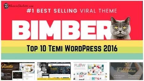 Top 10 Temi WordPress 2016 - AlessioChelotti.com | wordpressmania | Scoop.it