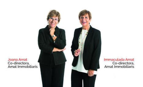 Joana e Inmaculada Amat, premio a la personalidad empresarial en los galardones anuales de la Cecot