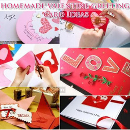 Homemade Valentine 2015 Greeting Cards For Boyfriend