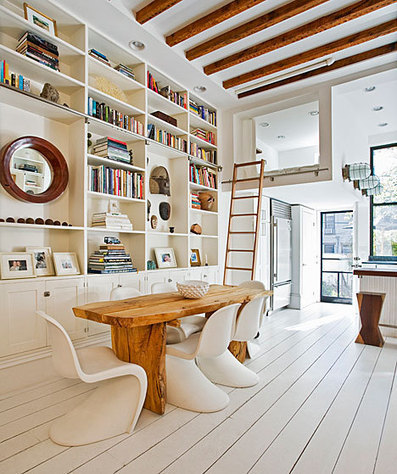 Fabulous Brooklyn Townhouse | Air Circulation and Ceiling Fans | Scoop.it