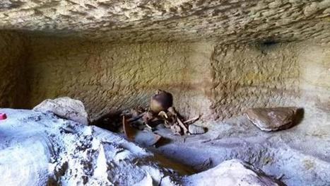 Hallan en Egipto una docena de tumbas excavadas en roca de tiempos de Tutmosis III y Amenhotep III | Egiptología | Scoop.it