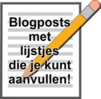 Nieuw! Overzichtspagina met blogposts met lijstjes/overzichten die je mag/kunt aanvullen... | Edu-Curator | Scoop.it