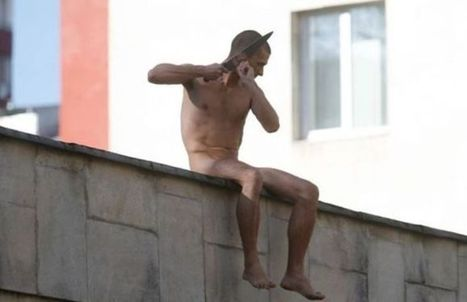 Naked Russian Political Protestor Cuts Off His Own Ear | CyberDada | Scoop.it