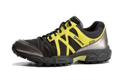 Icebug Women's Attla BUGrip Running Shoe,Carbon