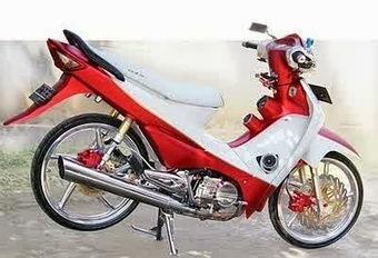 Kumpulan Modifikasi Honda Supra Fit Model Strip