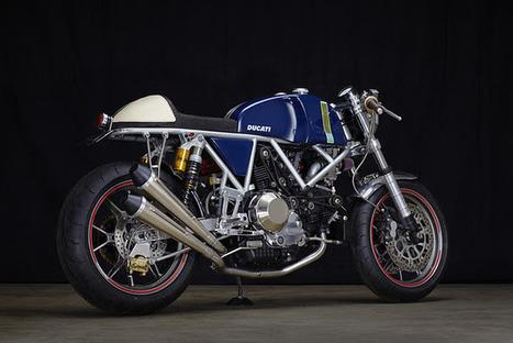 motographite cafe racer |  DUCATI SS RIVIERA by Walt Siegl | Ductalk Ducati News | Scoop.it