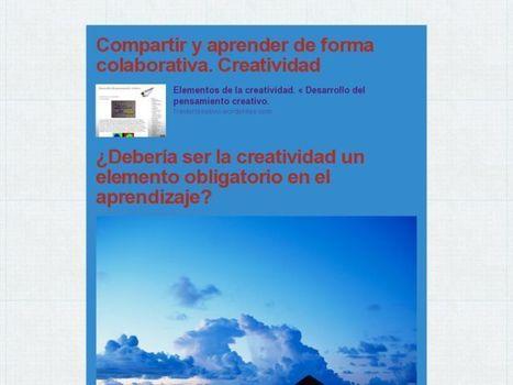 Compartir y aprender de forma colaborativa. Creatividad   Aprendemos compartiendo   Scoop.it