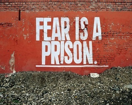 Fear is a Prison... | Quote for Thought | Scoop.it