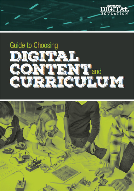 Guide to Choosing Digital Content and Curriculum | Educational Technology: Leaders and Leadership | Scoop.it