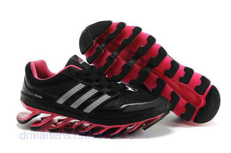 Womens Adidas Springblade UK Running Shoes Black Fuschia  Springblade 011   - £89.99   Dr Martens UK 884caff143