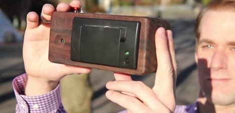 This Instant Camera Will Print Images On A Receipt Paper Roll   Socialart   Scoop.it