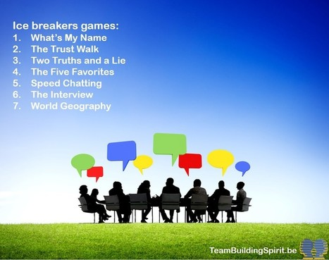 The 7 Best Ice Breaker Games - Team Building Spirit | Creativity, innovation and team building. | Scoop.it
