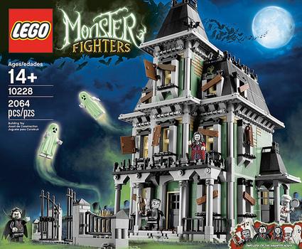 New LEGO Exclusive: Haunted House | Halloween | Scoop.it