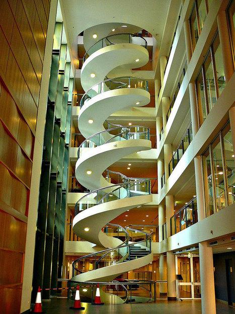 Unusual and Creative Staircase Designs | Pop Culture Ninja | Scoop.it