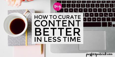 How To Curate Content Better In Less Time | Social Media Strategies | Scoop.it