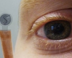 LCD Contact Lenses To Rival Google Glasses [Video] - PSFK | Futurewaves | Scoop.it