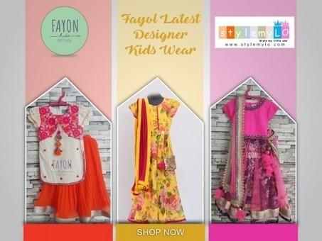 Stylemylo Adds New Designer Kids Wear From Popu