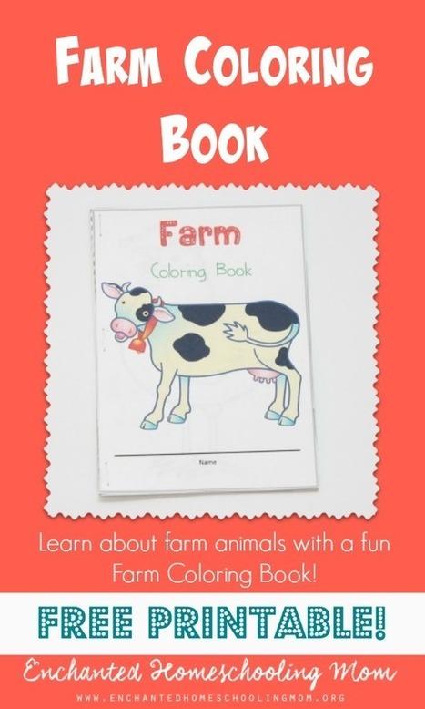 FREE Farm Coloring Book | Enchanted Homeschooling Mom | Conunpocoazúcar | Scoop.it