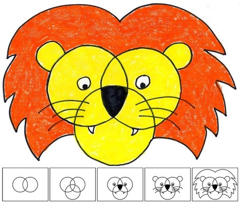 100 Drawing Animals Using Numbers Google Search Drawing Pinterest