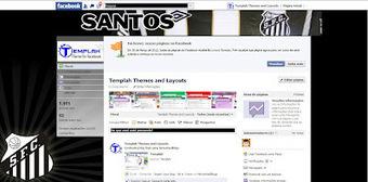 Tema para Facebook - Santos | Themes for Facebook | Scoop.it