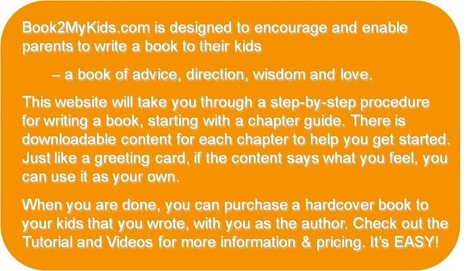 Book2MyKids - Write a book to your kids | The 3 C's of internet safety | Scoop.it