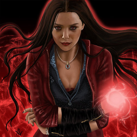 Scarlet Witch Hd Wallpaper Wallpapers Scoo