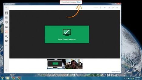 Conéctate a otros equipos mediante el acceso remoto con los hangouts | Las TIC y la Educación | Scoop.it