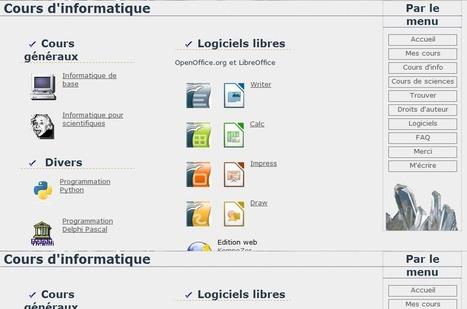 Cours d'informatique | Free Tutorials in EN, FR, DE | Scoop.it