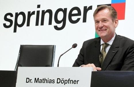 Allemagne: le groupe Axel Springer vend pour 1 milliard d'euros de titres | DocPresseESJ | Scoop.it