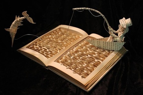 Artist Gives #Old #Books a Second Life By Making #Sculptures Out Of Their #Pages. #art #paperart | Art-Arte-Cultura | Scoop.it