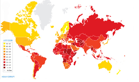 Transparency International - the global coalition against corruption | 2010 | Scoop.it
