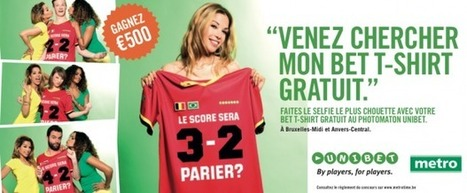 Belgique : Clear Channel soutient la promotion digitale et expérentielle des Bet T-Shirts d'Unibet | The Meeddya Group | Scoop.it