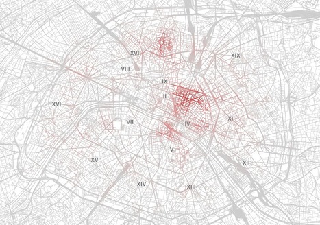 Airbnb : la carte des prix de location à Paris (et ce qu'on y apprend) | Data Journalism - | Scoop.it