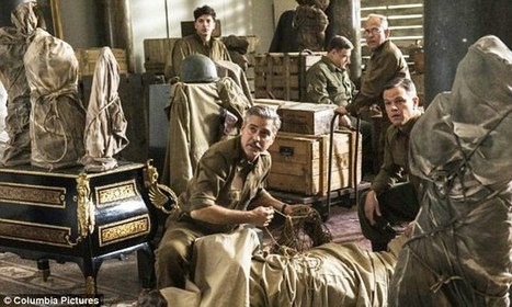America's heroic ART COLLECTORS: Rag tag bag of experts who turned WW2 soldiers and inspired George Clooney's latest movie | Good News for Artists | Scoop.it