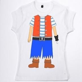 Carnaval en cavale ? Muse & Home vous propose le T-Shirt de déguisement Pirate | L'actu culturelle | Scoop.it