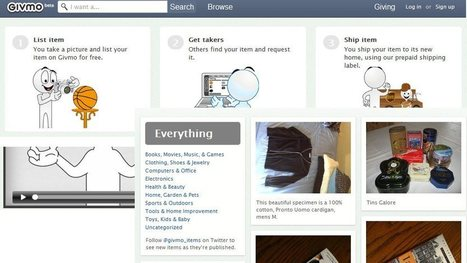 Givmo – Para regalar las cosas que no usas y ganar regalos de otros usuarios | CulturaDigital | Scoop.it