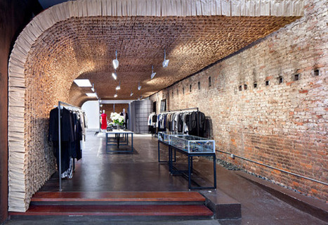 Boutique Wall Made Up of 25000 Brown Paper Bags: OWEN Store in New York | Design | News, E-learning, Architecture of the future at news.arcilook.com | Architecture e-learning | Scoop.it