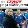 Interactions presse football