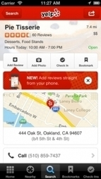 Rip Away: Yelp Finally Adds Mobile Reviews | Optometry Online Reputation Management | Scoop.it