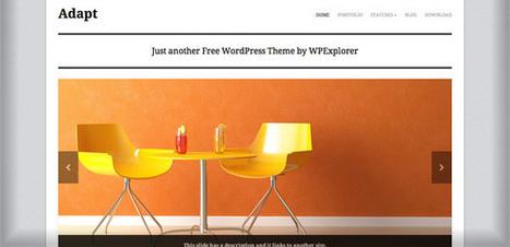 20 Thèmes WordPress Gratuits Publiés sur Notre Page Facebook | Luc Koukoui | Scoop.it