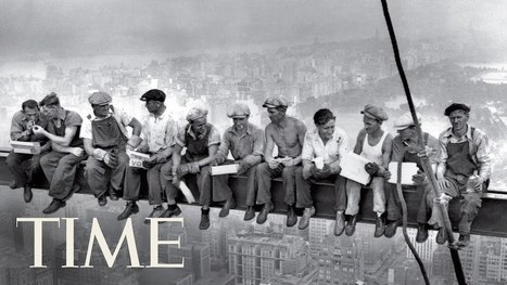 Lunch Atop a Skyscraper: The Story Behind the Iconic Photo | Backpack Filmmaker | Scoop.it