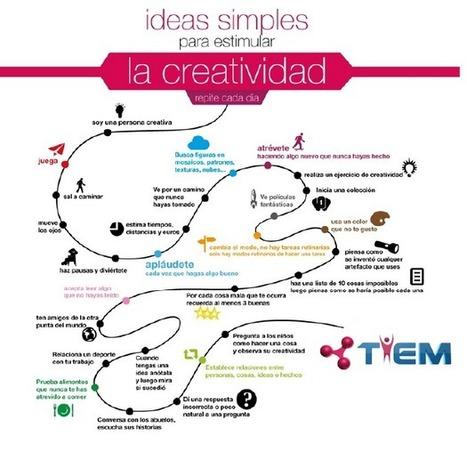 Ideas simples para estimular la creatividad | Al calor del Caribe | Scoop.it