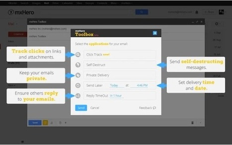 Supercharge your Gmail Inbox with mxHero Email Toolbox | Boîte à outils du web 2.0 | Scoop.it