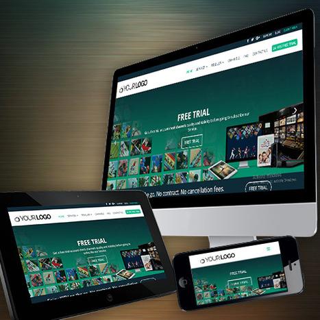 Pre-Built IPTV Website Themes | IPTV Smarters |