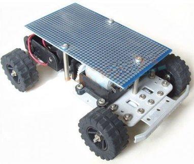Arduino 4 Wheel Drive Robot Aluminium Alloy Chassis 4WD Platform [bzb8780033] - $35.00 : Bizoner.com, Online Shop,Arduino Boards,Shield,Tools,Sensors,Robot,Cables,Hobby,Sell | hobby robotics | Scoop.it