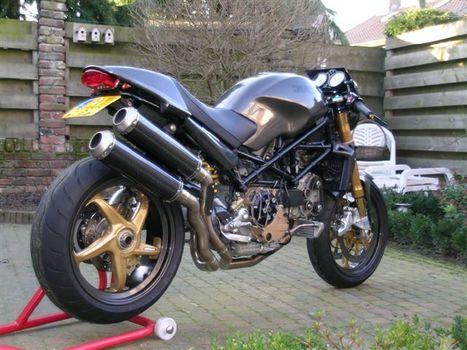 Ducati Monster Carbonster | Ducati & Italian Bikes | Scoop.it
