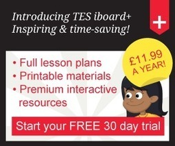 TES iboard: Units of work | E-Learning and Online Teaching | Scoop.it