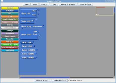 HOMAGO / Geekout / Arduino: Sparkfun's Brian Huang on Ardublock: Visual Programming for Arduino   tec2eso23   Scoop.it