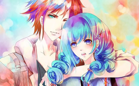 Anime Couple Wallpapers In Wallpapers Scoop It