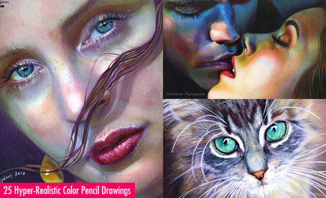 25 Mind Blowing and Hyper-Realistic Color Pencil Drawings by Christina Papagianni | Art Works | Scoop.it